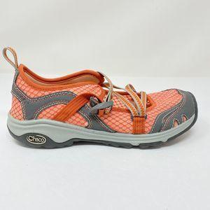 Chaco Size 6.5 Outcross Evo MJ Hiking Shoe Orange